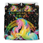 Unicorn Galaxy Personalized Your Kids name Duvet Cover Bedding Set 050620V