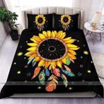 Sunflower Dreamcatcher Colorful Duvet Cover Bedding Set #0705V