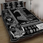 Viking Tattoo You Are My Best Viking, From Your Shieldmaiden Duvet Cover Bedding Set #V