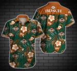 Busch trophy can hawaiian aloha shirts