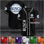 Busch light custom name Baseball Jersey #KV