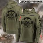 Busch light Simple custom name hoodie 3d #KV