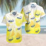 Lemon Busch Light yellow hawaiian aloha shirts
