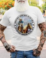 Cowboy Sometimes I look back on my life Unisex T-Shirt 2D #KV