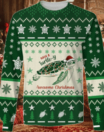Have A Turtle-Y Awesome Christmas Sweater #KV