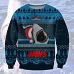 Santa Shark Jaws Christmas Sweater #KV