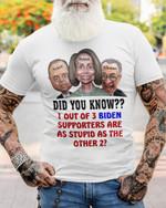 Did You Know 1 Out Of 3 BD Meme Unisex T-Shirt 2D #KV