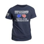 I Don't Co-Parent With The Government Funny Unisex AOP T-Shirt 3D #KV