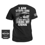 I Am 1776 Sure Unisex AOP T-Shirt 3D #KV