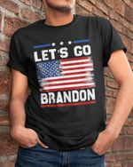 Let's go Brandon crack American flag unisex t-shirt
