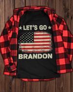Let's go Brandon old American flag unisex t-shirt