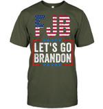 FJB let's go Brandon American flag unisex t-shirt