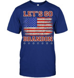Vintage Let's go Brandon black unisex t-shirt