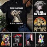 Pitbull Unisex T-Shirt 2D #KV
