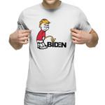 Tr*mp Pee on Biden Unisex T-Shirt 2D #KV