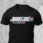 Jihadjoe - Joe Biden a real American zero black unisex t-shirt