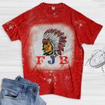 FJB Native America Bleached T-shirt 2D #KV