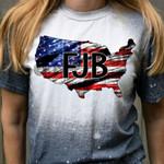 FJB USA Freedom Bleached T-shirt 2D #KV