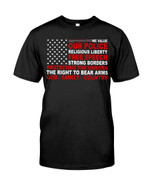 We Value Our Police Religious Liberty Unisex T-Shirt #Kv