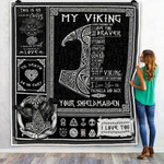 Viking Tattoo You Are My Best Viking, From Your Shieldmaiden Fleece Blankets #V