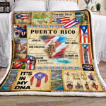 Puerto Rico my love, my memories, my laugh, my heart Fleece Blankets #V