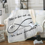 Personalized Blanket Mr And Mrs Gift For Mother's Days Custom Blanket #DH