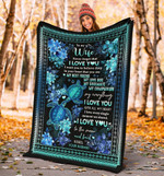 Turtle to My Wife you are my best friend, my love Gift Valentine's Day Blankets #V