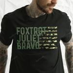 #FJB Foxtrot Juliet Bravo Camo Unisex T-Shirt 2D #KV