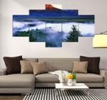 Grand Teton Beautiful Place 5 Pieces Canvas Wall Art Home Decor 28