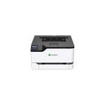 Lexmark C3224dw Single Function Color Laser Printer, White