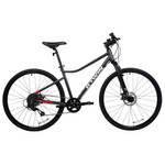 Decathlon - Riverside Hybrid Bike 500, L, 700c, Dark Gray