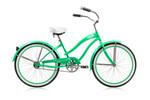 """Micargi ROVER 24"""" Womens Beach Cruiser-Mint Green/ Mint Green"""