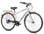"""Concord 700c NuVinci Hub SCN Men's Bicycle, 17"""" Silver/Orange"""
