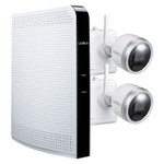 Lorex L222A8E-2CM-E 1080p HD Wire-Free Security System With 64 GB NVR And 2 Battery-Operated Active-Deterrence Cameras With Person Detection