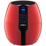 GoWISE USA 3.7-Quart Programmable Air Fryer, Chili Red