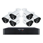 Night Owl 8 Channel Wired DVR with Pre-Installed 1TB Hard Drive and (6) 1080p Wired Spotlight Cameras