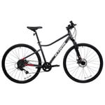 Decathlon - Riverside Hybrid Bike 500, S, 700c, Dark Gray