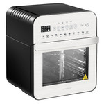 GoWISE USA Ultra 12.7-Quart Electric Air Fryer Oven, Silver/Black