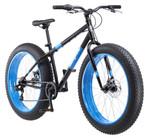 Mongoose Dolomite Men's Fat Tire Bike, 26-inch wheels, 7 speeds, Black