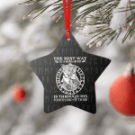 VIKING THE BEST WAY TO A MAN'S HEART ORNAMENT
