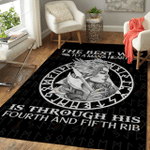 VIKING THE BEST WAY TO A MAN'S HEART RUG
