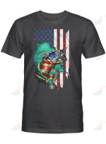 Fishing Lover American Flag