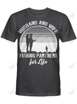 Fishing Partners For Life Husband And Wife