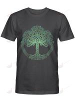 Viking Tree Of Life Yggdrasil Green