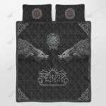Viking Fenrir Quilt Set - Bedding Set