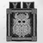 Viking - Mjolnir Odin Quilt Set - Bedding Set