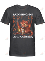 Dragon Running On Coffee CHaos And Cursing