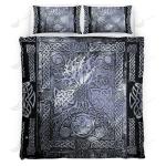 Celtic Tree Of Life Viking Quilt Set - Bedding Set VKQS0032