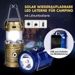 Multifunktional LED Camping Laterne