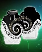 Piano Musical Instrument 3D All Over Print